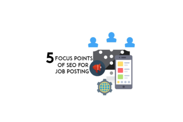 5 focus points of SEO for job posting