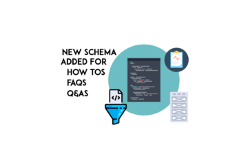 new schema added for howtos faws qas